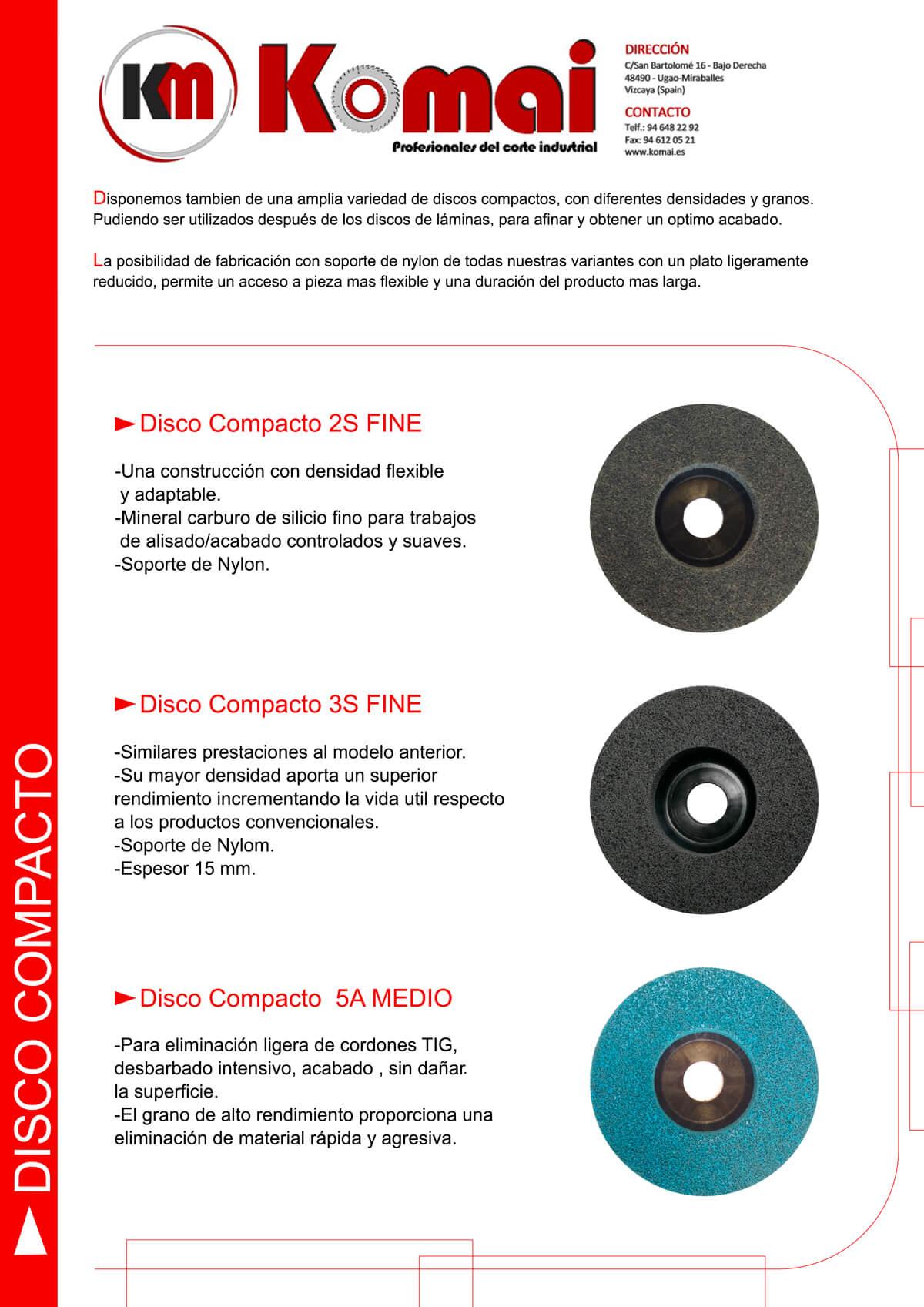 disco compacto komai